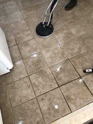 how to clean my tile